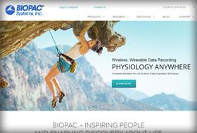 biopac website portfolio