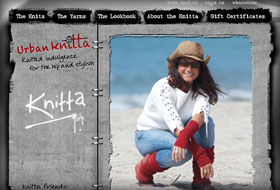 knitta website portfolio