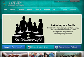 acension website portfolio
