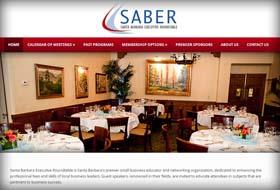saber website portfolio