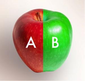 a-b split testing