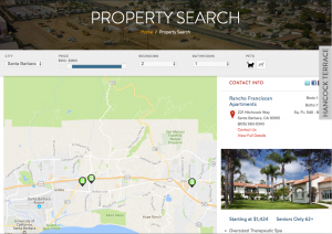 Dynamic Property Search For CRE Websites