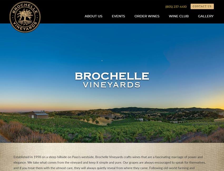 brochelle vineyard website