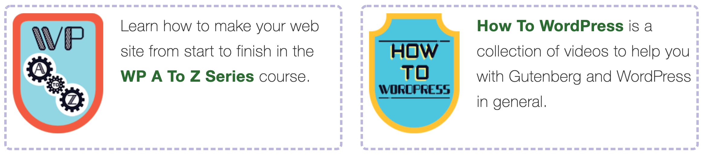 Free WordPress training at Joy of WP